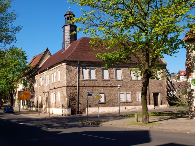 Bild: Eisleben - Das Neustädter Rathaus.