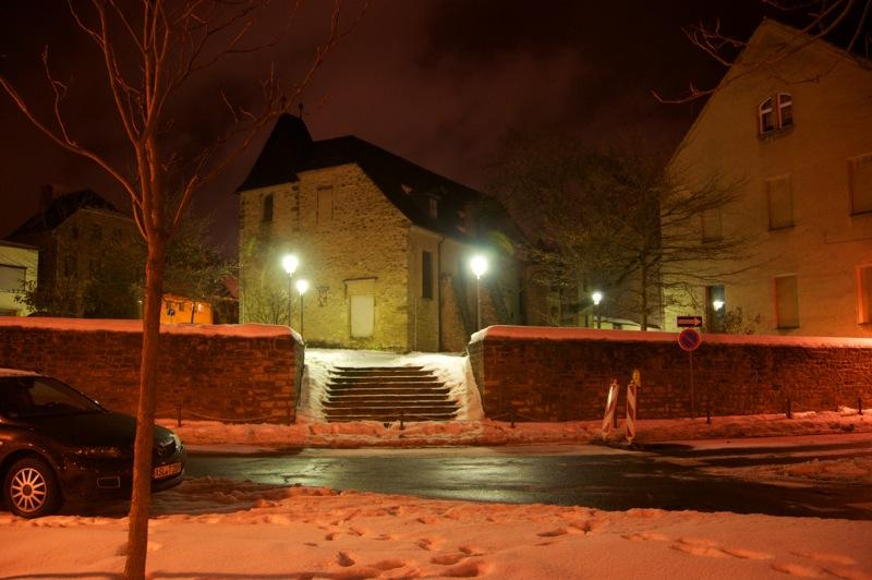 Die Kirche St. Margarethen Hinter dem Zoll