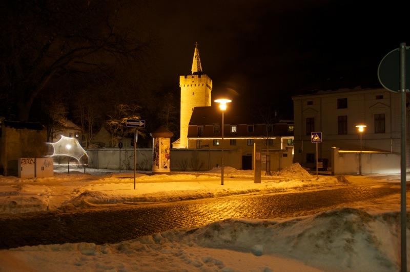 Kuntzes Turm an der Hohen Straße in Aschersleben