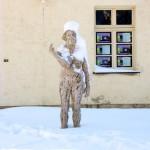 Kunst an der Schlossmühle im Schlosspark zu Ballenstedt