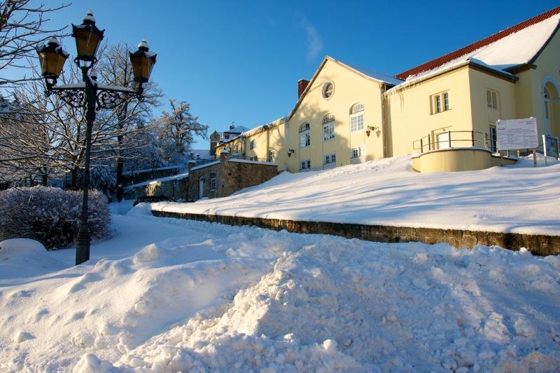 Das Schloss zu Ballenstedt mit dem Theater