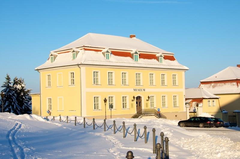 Das Museum am Fuße des Schlosses zu Ballenstedt