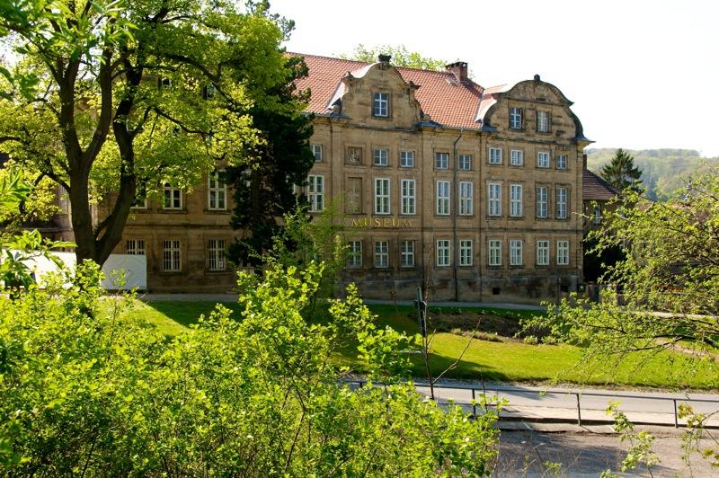 Das Kleine Schloss zu Blankenburg von der Straßenseite aus gesehen.