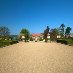 Bild: Das Kleine Schloss zu Blankenburg von der Gartenseite aus gesehen.
