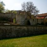 Bild: Im Garten des Kleinen Schlosses zu Blankenburg.