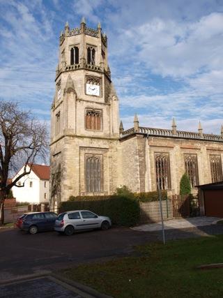 Bild: Impressionen von der Kirche zu Unterfarnstädt.