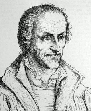Bild: Portrait des Philipp Melanchthon. Dieses Bild ist gemeinfrei, weil seine urheberrechtliche Schutzfrist abgelaufen ist.