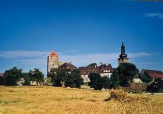 Bilder: Die Burg zu Querfurt.