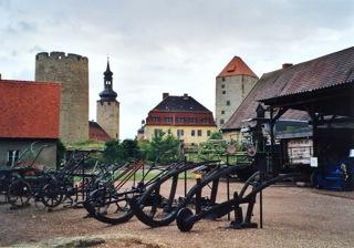 Bild: Das Landwirtschaftsmuseum Querfurt - unmittelbar neben der Burg gelegen - bietet ...