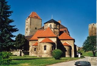 Bild: Die Burg zu Querfurt.