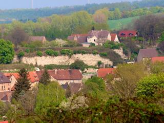Bild: Die Ruinen der Festung Schraplau.