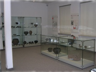 Bild: Ausstellung zur Frühgeschichte des Gebietes um die Stadt Sangerhausen.