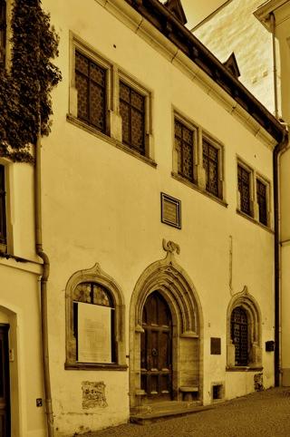 Bild: Das Sterbehaus Dr. Martin Luthers in Eisleben. Aufnahme © 2011 by Bert Ecke.