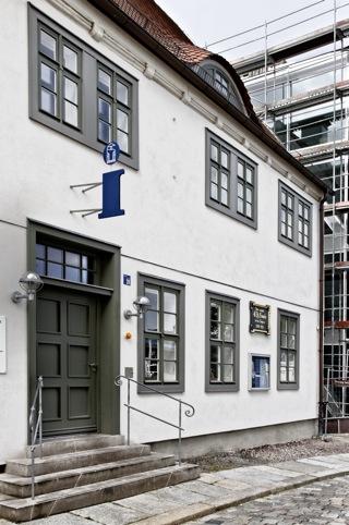 Bild: Das ehemalige Wohnhaus August Hermann Franckes in den den Franckeschen Stiftungen in Halle an der Saale. Bild: © 2012 by Bert Ecke.