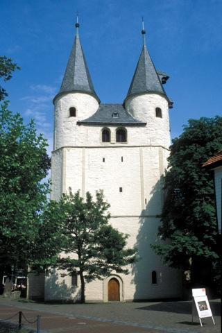 Bild: Die Kirche St. Jacobi in Goslar. Bild: © 2012 by Dr. Walter Töpner.