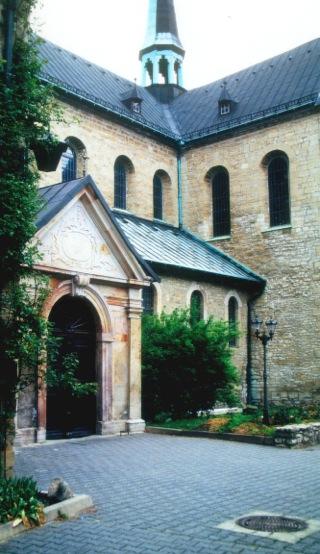 Bild: Die Kirche St. Jacobi im Kloster Huysburg bei Halberstadt. Bild: © 2012 by Dr. Walter Töpner.