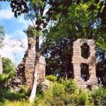 Bild: Impressionen von der Burgruine Stecklenburg bei Stecklenberg im Harz.