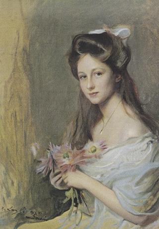 Bild: Gemälde der Prinzessin Viktoria Luise von Preußen von P.A. von Laszlo aus dem Jahre 1908. Dieses Bild ist gemeinfrei, weil seine urheberrechtliche Schutzfrist abgelaufen ist.