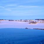 Bild: Winter auf der Rabenskuppe bei Mansfeld.