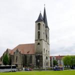 Bild: Die Kirche St. Martini zu Halberstadt.
