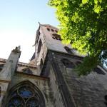 Bild: Blick auf den Dom zu Halberstadt.