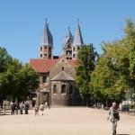 Bild: Blick auf die Liebfrauenkirche zu Halberstadt.