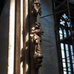 Bild: Im Dom zu Halberstadt.