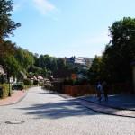 Bild: Stolberg - Blick zum Schloss.