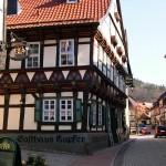 Bild: Stolberg - das historische Gasthaus Kupfer.