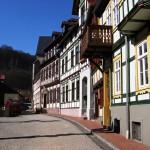 Bild: Stolberg - In den Gassen der Fachwerkstadt.