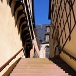 Bild: Stolberg - Rathaustreppe.