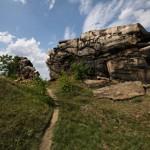 Bild: Die Teufelsmauer bei Weddersleben.