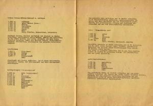 """Bild: Seiten 3 und 4 des Rezeptheftes """"Woche der Gesunden Ernährung 1989"""" vom VEB Walzwerk Hettstedt."""