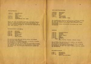 """Bild: Seiten 9 und 10 des Rezeptheftes """"Woche der Gesunden Ernährung 1989"""" vom VEB Walzwerk Hettstedt."""